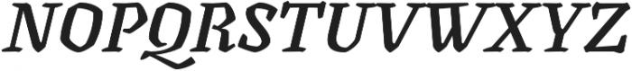 Canilari Pro Medium It otf (500) Font UPPERCASE