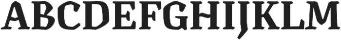 Canilari Std Bold otf (700) Font UPPERCASE