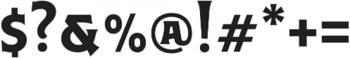 Caniste otf (700) Font OTHER CHARS