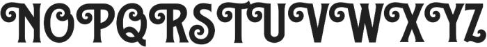 Caniste otf (700) Font UPPERCASE