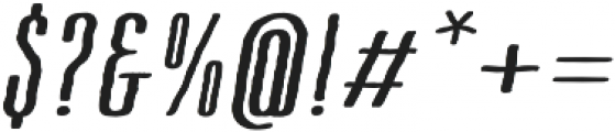 Cansum Hand 26 Hand Italic otf (400) Font OTHER CHARS
