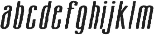 Cansum Hand 26 Hand Italic otf (400) Font LOWERCASE