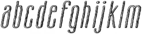 Cansum Hand 34 Half Light Italic otf (300) Font LOWERCASE