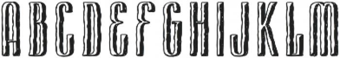 Cansum Hand 37 Half Bold otf (700) Font UPPERCASE