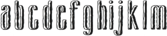 Cansum Hand 37 Half Bold otf (700) Font LOWERCASE