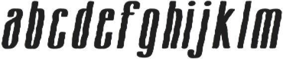 Cansum Hand Half otf (300) Font LOWERCASE