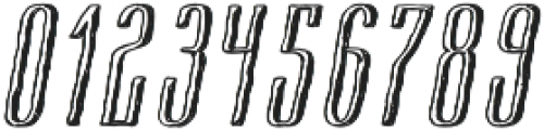 Cansum Hand Half otf (400) Font OTHER CHARS