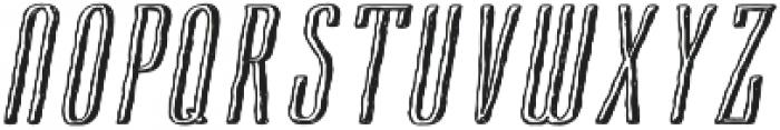 Cansum Hand Half otf (400) Font UPPERCASE