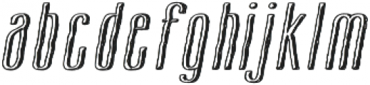 Cansum Hand Half otf (400) Font LOWERCASE