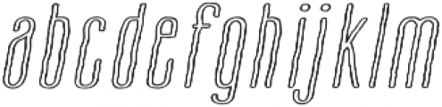 Cansum Hand Half otf (700) Font LOWERCASE