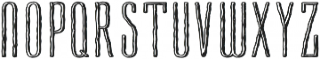 Cansum Hand Line otf (300) Font UPPERCASE