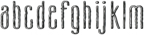 Cansum Hand Line otf (300) Font LOWERCASE