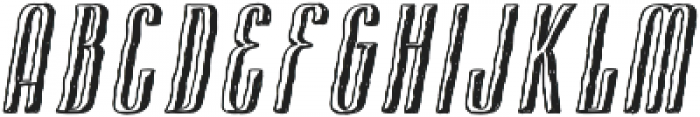 Cansum Hand Shadow otf (300) Font UPPERCASE