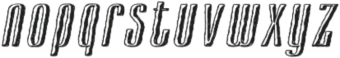 Cansum Hand Shadow otf (300) Font LOWERCASE