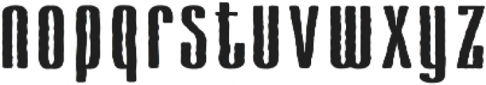 Cansum Hand Shadow otf (400) Font LOWERCASE