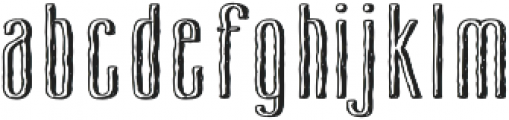 Cansum Hand otf (700) Font LOWERCASE
