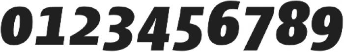 Cantiga Black Italic otf (900) Font OTHER CHARS