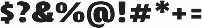 Cantiga Black otf (900) Font OTHER CHARS