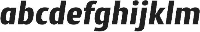 Cantiga ExtraBold Italic otf (700) Font LOWERCASE