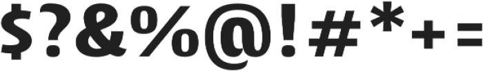 Cantiga ExtraBold otf (700) Font OTHER CHARS