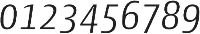 Cantiga Light Italic otf (300) Font OTHER CHARS