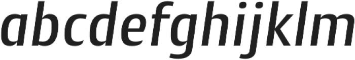 Cantiga Medium Italic otf (500) Font LOWERCASE