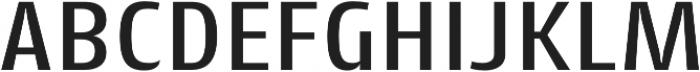 Cantiga Medium otf (500) Font UPPERCASE