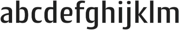 Cantiga Medium otf (500) Font LOWERCASE