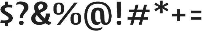 Cantiga SemiBold otf (600) Font OTHER CHARS