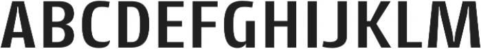 Cantiga SemiBold otf (600) Font UPPERCASE
