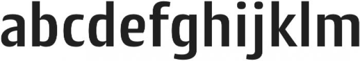 Cantiga SemiBold otf (600) Font LOWERCASE