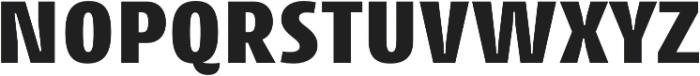 Cantiga UltraBold otf (700) Font UPPERCASE