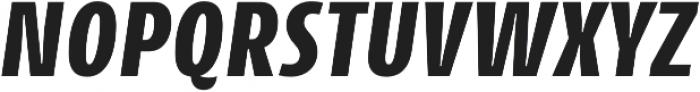 CantigaCnd ExtraBold Italic otf (700) Font UPPERCASE