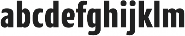 CantigaCnd ExtraBold otf (700) Font LOWERCASE