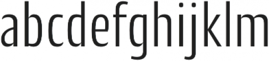 CantigaCnd Light otf (300) Font LOWERCASE