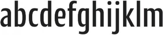 CantigaCnd Medium otf (500) Font LOWERCASE