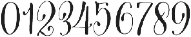 Cantoni Basic otf (400) Font OTHER CHARS