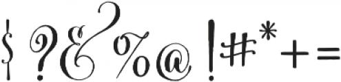 Cantoni Pro Bold otf (700) Font OTHER CHARS