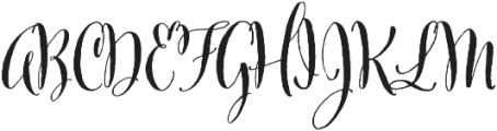 Cantoni Pro Bold otf (700) Font UPPERCASE