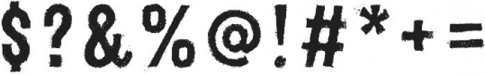 Canvas 3D Sans Regular otf (400) Font OTHER CHARS