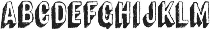 Canvas 3D Sans Shadow otf (400) Font UPPERCASE