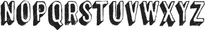 Canvas 3D Sans Shadow otf (400) Font LOWERCASE