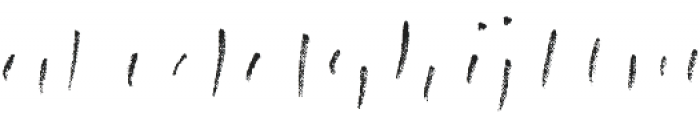 Canvas Script Heavy Accent A otf (800) Font LOWERCASE