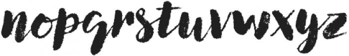 Canvas Script Heavy otf (800) Font LOWERCASE