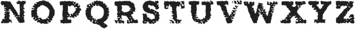 Canvas Tiny Slab otf (400) Font UPPERCASE