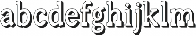 Canyon Marquee otf (400) Font LOWERCASE