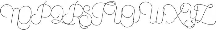 Canyons Regular-Alternates otf (400) Font UPPERCASE