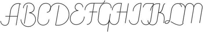Canyons otf (400) Font UPPERCASE