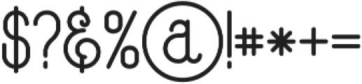 Capella glyph otf (400) Font OTHER CHARS