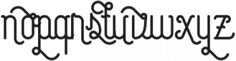Capella glyph otf (400) Font UPPERCASE